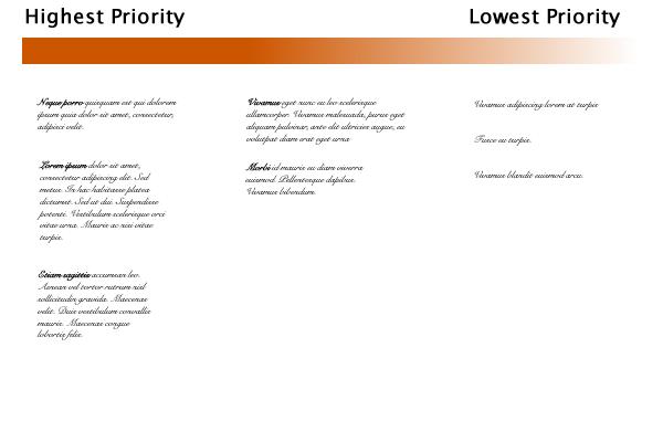 De structuur van de website seo website ontwerp uw gratis web een gebruikelijke lay out voor de pdd is om de horizontale methode voor prioriteiten te gebruiken een pdd kan bijvoorbeeld voor iedere pagina drie kolommen ccuart Choice Image