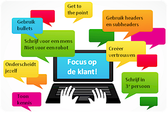 De content van de website